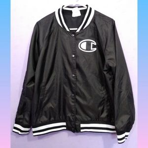 CHAMPION Letterman Style Windbreaker